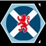 Symbol caledonské horalské armády